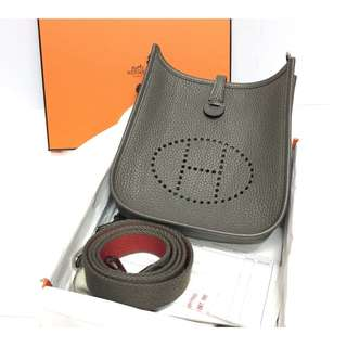 Authentic Hermes Mini Evelyne