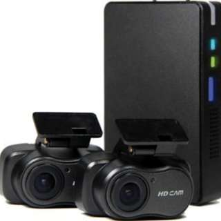 eCell Focus TC-001 2CH Dash Cam with Smartphone Control (Cash & Carry)