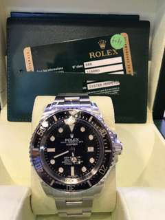 二手Rolex 116660 SEA-DWELLER DEEPSEA 黑面