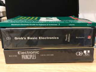 ECE Textbooks Grob, Malvino, Latorilla