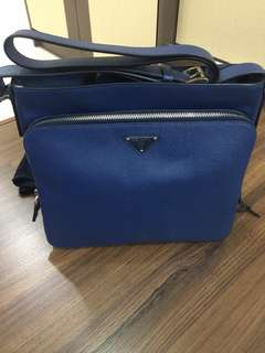 Authentic Prada men bag