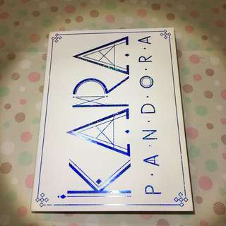 KARA 5th mini album PANDORA (CD&DVD) (含小卡)