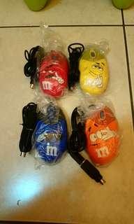 全新M&M's滑鼠組