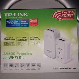 TP-Link AV500 Powerline ac Wi-Fi Kit