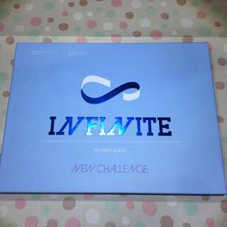 INFINITE 4th mini album New Challenge (含小卡)