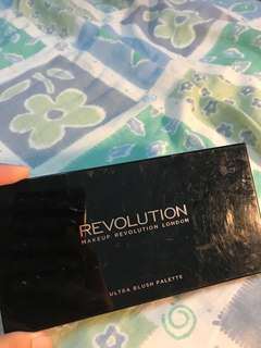 Make Up Revolution London Ultra Blush Palette
