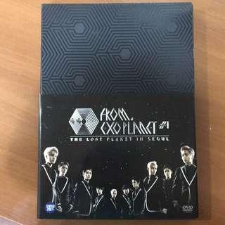 (燦烈海報)EXO FROM. EXOPLANET #1  IN SEOUL DVD(韓國進口版)