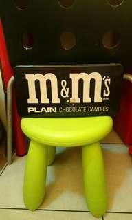 早期M&M's大鐵盒