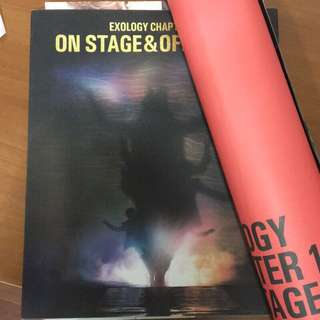 (世勛海報)EXO EXOLOGY CHAPTER 1 : N STAGE & OFF STAGE(韓國進口寫真集)