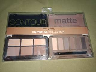Original bnew BYS On The Go Collection Make up Palette eyeshadow and Contour