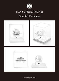 EXO Commemorative Medal Special Package [CHANYEOL]