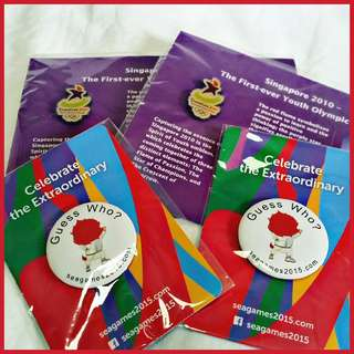 🌟 BNIP - SYOG 2010 & Sea Games 2015 Badges
