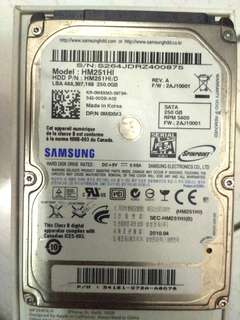 HDD Samsung 250 GB