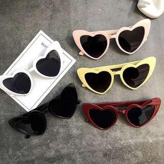Retro heart Sunglasses