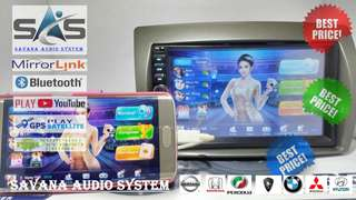 DOUBLE DIN MIRROR LINK SATRIA NEO 1SET