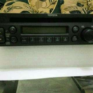 Radio Tape Avanza 2013