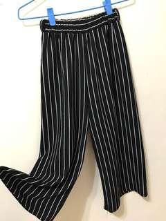 🚚 條紋寬褲❤️