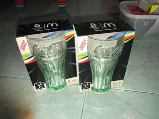 Coca Cola Glasses limited edition