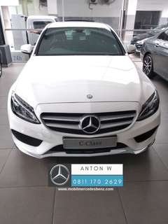Ready Stock Mercedes-Benz C 200 AMG Line NIK 2018.