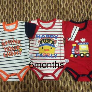 Cotton Baby Rompers 6/9months #MidYearSale