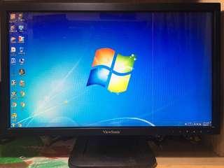 viewsonic TD2220 優派電腦螢幕 LCD液晶顯示器 電腦寬螢幕 監視器螢幕