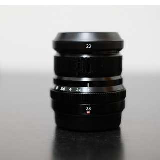 Fujifilm 23mm lens F2.0