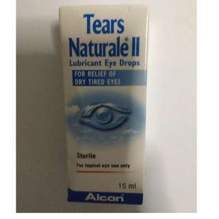 Tears Naturale Lubricant Eye Drops.  2 bottles available.  Price is for 2 bottles.