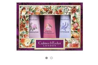 Crabtree & Evelyn Hand Therapy Set