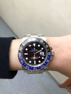 Rolex 116710 blnr 藍黑圈GMT