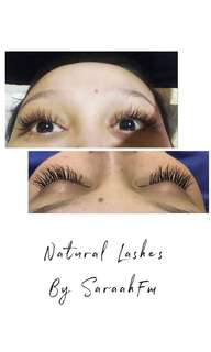 Eyelash Extension Natural By SaraahFM