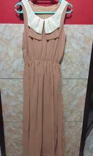 Sleveless Dress bahan Siffone