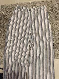 A&F wide leg pants