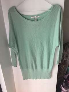 Forever 21 Batwing Sweater top