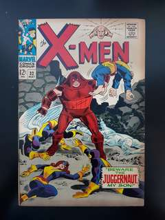 X-Men (vol.1) #32: Juggernaut appearance