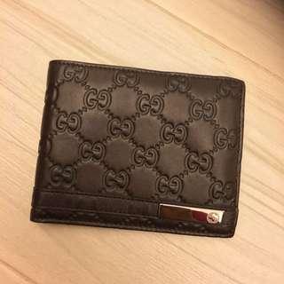 Gucci 銀包 男仕 95%new