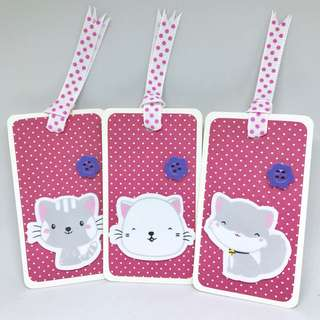 Kitty gift tags (3pcs)