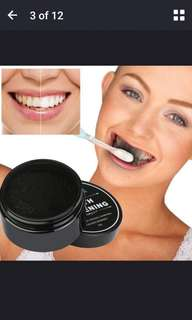 🚚 Charcoal tooth whitening powder