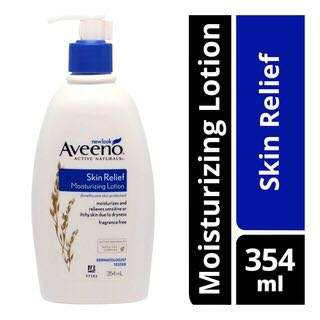 (U.P:$22.90)Aveeno Moisturizing Lotion - Skin Relief 345ML