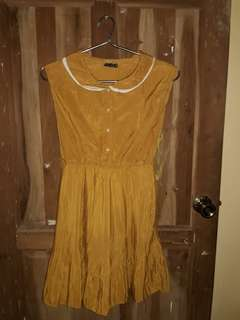 Mustard Sunday Dress