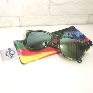 Oakley - Frogskins Acid Tortoise Green Sunglasses