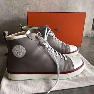 Hermes Grey Sneakers