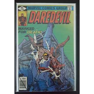 Daredevil #159 (1st Series 1979)- Frank Miller DD! Guest Starring The Black Widow!
