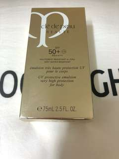 Brand New Cle De Peau Beaute SPF50+UV Protective Emulsion