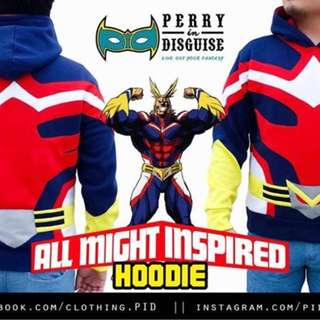 Boku no Hero Academia - All Might Hoodie (Large) by Perry in Disguise