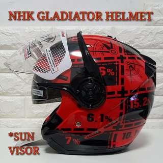 NHK GLADIATOR Helmet..😎!!