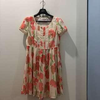 Carty Floral Dress