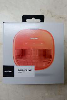Bose Soundlink Mirco Bluetooth Speakers