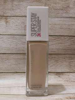 🚚 Maybelline super stay 24hr 粉底液