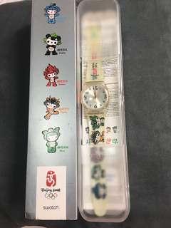 北京奧運swatch 紀念手錶