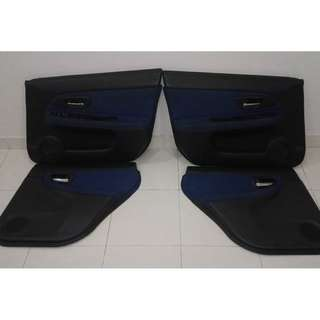 subaru sti version 9 interior door trim